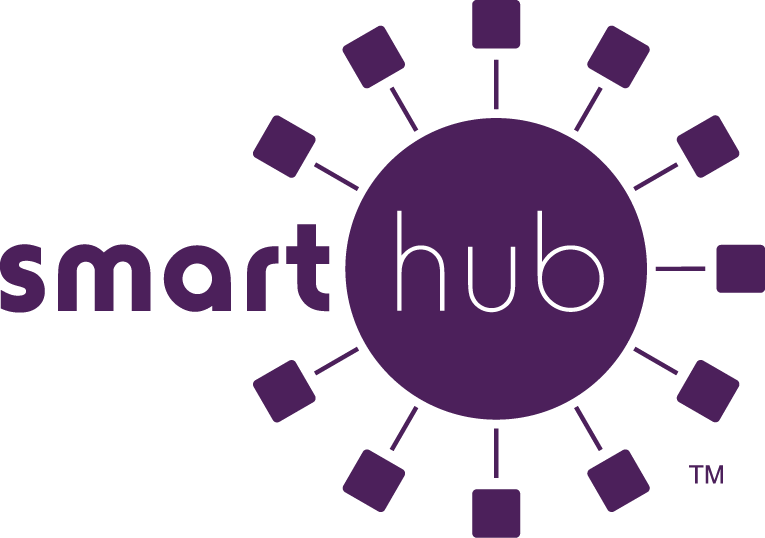 SmartHub logo - purple